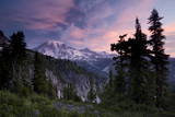 Landscape, Mount Rainier National Park, Washington State, United States of America, North America Photographic Print by Colin Brynn