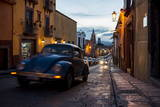 Volkswagen on Cobbled Street, San Miguel De Allende, Guanajuato, Mexico, North America Photographic Print by Ben Pipe