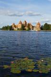 Island Castle of Trakai Near Vilnius, Lithuania, Europe Stampa fotografica di Bruno Morandi