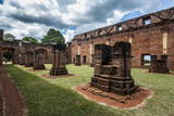 Jesuit Mission of Jesus De Tavarangue, UNESCO World Heritage Site, Paraguay, South America Photographic Print by Michael Runkel