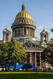 St. Isaac's Cathedral, St. Petersburg, Russia, Europe Photographic Print by Michael Runkel