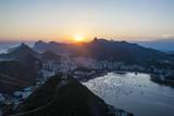 View from the Sugarloaf, Rio De Janeiro, Brazil, South America Photographie par Michael Runkel