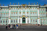 The Hermitage (Winter Palace), UNESCO World Heritage Site, St. Petersburg, Russia, Europe Photographic Print by Michael Runkel