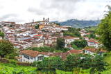 View over Ouro Preto, UNESCO World Heritage Site, Minas Gerais, Brazil, South America Photographic Print by Gabrielle and Michel Therin-Weise
