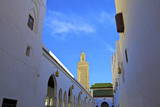 Tomb of Idriss 1, Moulay Idriss, Morocco, North Africa, Africa Photographic Print by Neil Farrin
