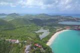 View over Five Islands Village, Antigua, Leeward Islands, West Indies, Caribbean, Central America Photographie par Frank Fell