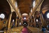 Iglesia San Francisco De Castro, UNESCO World Heritage Site, Castro, Chiloe, Chile, South America Photographic Print by Michael Runkel
