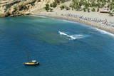 Matala Beach, Crete, Greek Islands, Greece, Europe Photographic Print by Bruno Morandi