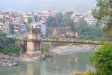 Victoria Bridge across Beas River, Mandi, Himachal Pradesh, India, Asia Photographic Print by Bhaskar Krishnamurthy