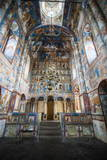 Painted Walls in the Cathedral of the Kremlin of Rostov Veliky, Golden Ring, Russia, Europe Photographic Print by Michael Runkel