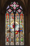 Stained-Glass Window Photographic Print by G and M Therin-Weise