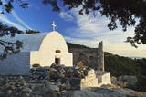 Chapel at Monolithos Castle, Rhodes, Dodecanese, Greek Islands, Greece, Europe Photographic Print by Jochen Schlenker