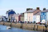 A View of the Harbour at Aberaeron, Ceredigion, Wales, United Kingdom, Europe Photographic Print by Graham Lawrence