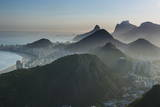 View from the Sugarloaf, Rio De Janeiro, Brazil, South America Photographic Print by Michael Runkel