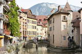 A View of the Old Town of Annecy, Haute-Savoie, France, Europe Photographic Print by Graham Lawrence