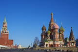 St. Basil's Cathedral, Red Square, UNESCO World Heritage Site, Moscow, Russia, Europe Photographic Print by Bruno Morandi