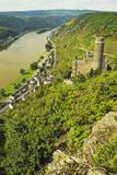 Castle Maus and River Rhine, Rhineland-Palatinate, Germany, Europe Photographic Print by Jochen Schlenker