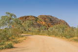 Road Leading to the Purnululu National Park Photographic Print by Michael Runkel