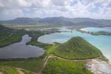 View over Five Islands Harbour, Antigua, Leeward Islands, West Indies, Caribbean, Central America Photographie par Frank Fell