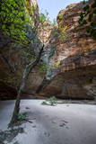 Cathedral Gorge in the Purnululu National Park Photographic Print by Michael Runkel