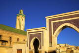 Mosque R'Cif, R'Cif Square (Place Er-Rsif), Fez, Morocco, North Africa, Africa Photographic Print by Neil Farrin