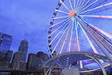 Seattle Great Wheel on Pier 57, Seattle, Washington State, United States of America, North America Photographic Print by Richard Cummins