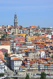 Torre Dos Clerigos, Old City, UNESCO World Heritage Site, Oporto, Portugal, Europe Photographic Print by G and M Therin-Weise