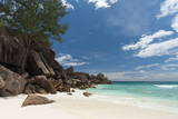 Grand Anse Beach, La Digue, Seychelles, Indian Ocean, Africa Photographic Print by Sergio Pitamitz