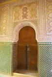 Mosque Entrance, Medina, Meknes, Morocco, North Africa, Africa Fotografisk tryk af Neil Farrin