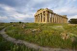 Temple E, Selinunte, Trapani District, Sicily, Italy, Europe Photographic Print by Bruno Morandi