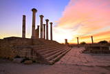 Excavated Roman City, Volubilis, UNESCO World Heritage Site, Morocco, North Africa, Africa Photographic Print by Neil Farrin