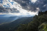 View over the Grampians National Park, Victoria, Australia, Pacific Photographic Print by Michael Runkel