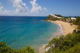 Grace Bay and Beach, St. Mary, Antigua, Leeward Islands, West Indies, Caribbean, Central America Photographie par Frank Fell