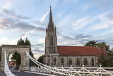 Marlow Bridge Leading Past All Saints Church Photographic Print by Charlie Harding