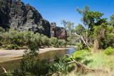 Windjana Gorge, the Kimberleys, Western Australia, Australia, Pacific Photographic Print by Michael Runkel