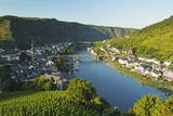 View of Cochem and Moselle River (Mosel), Rhineland-Palatinate, Germany, Europe Photographic Print by Jochen Schlenker