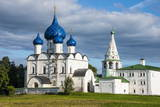 Nativity of the Virgin Cathedral, UNESCO World Heritage Site, Suzdal, Golden Ring, Russia, Europe Photographic Print by Michael Runkel
