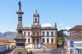 Tiradentes Plaza and Da Inconfidencia Museum Photographic Print by Gabrielle and Michel Therin-Weise