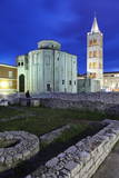 Illuminated Roman Forum (Forum Romanum) Photographic Print by Markus Lange