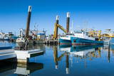 Fishing Boat Harbour of Fremantle, Western Australia, Australia, Pacific Photographic Print by Michael Runkel