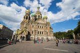 Church of the Saviour on Spilled Blood, UNESCO World Heritage Site, St. Petersburg, Russia, Europe Photographic Print by Michael Runkel