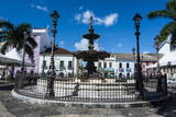16 Do Novembro Square in the Pelourinho Photographic Print by Michael Runkel