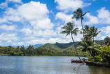 Wailua River. Kauai, Hawaii, United States of America, Pacific Photographic Print by Michael Runkel