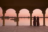 Women in Traditional Dress, Jaisalmer, Western Rajasthan, India Photographic Print by Doug Pearson