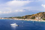 Giardini Naxos Bay Photographic Print by Matthew Williams-Ellis