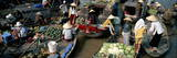 Floating Market of Cai Rang, Can Tho, Mekong Delta, Vietnam, Indochina, Southeast Asia, Asia Photographic Print by Bruno Morandi