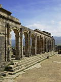 Roman Archaeological Site Photographic Print by Simon Montgomery