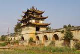 Double Dragon Bridge around Jianshui, Yunnan, China, Asia Photographic Print by Bruno Morandi