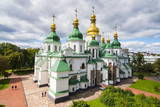 St. Sophia's Cathedral, UNESCO World Heritage Site, Kiev (Kyiv), Ukraine, Europe Photographic Print by Michael Runkel
