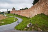 The Kremlin of Novgorod, UNESCO World Heritage Site, Novgorod, Russia, Europe Photographic Print by Michael Runkel